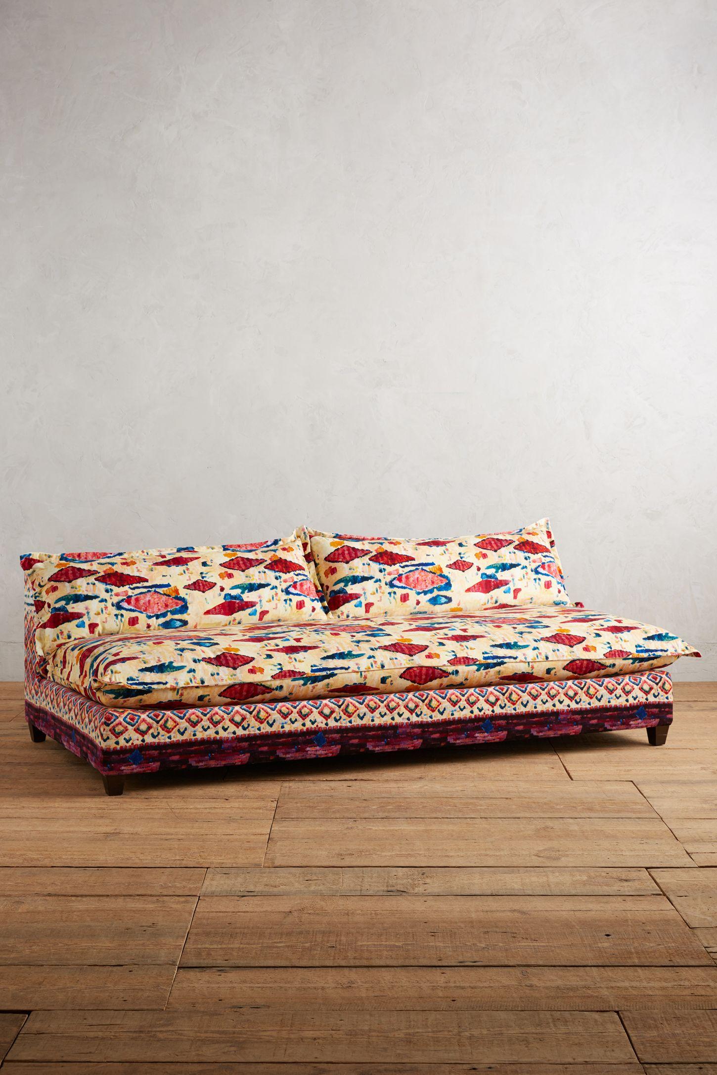 Red shop sofas couches settees anthropologie anthropologie medina printed tassa sofa parisarafo Choice Image