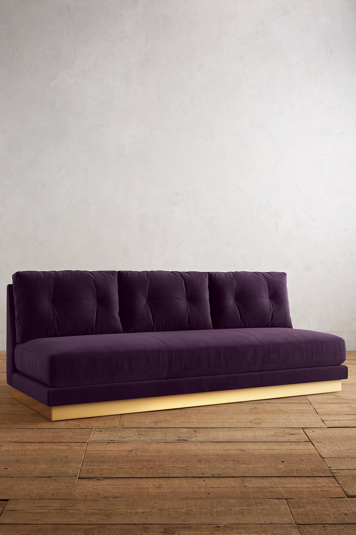 Velvet Cardiff Sofa