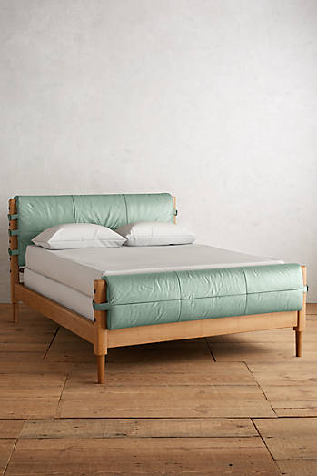 premium leather rhys bed