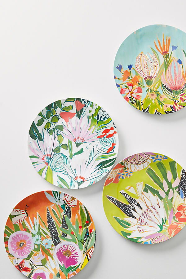 Slide View: 2: Lulie Wallace Melamine Dinner Plate