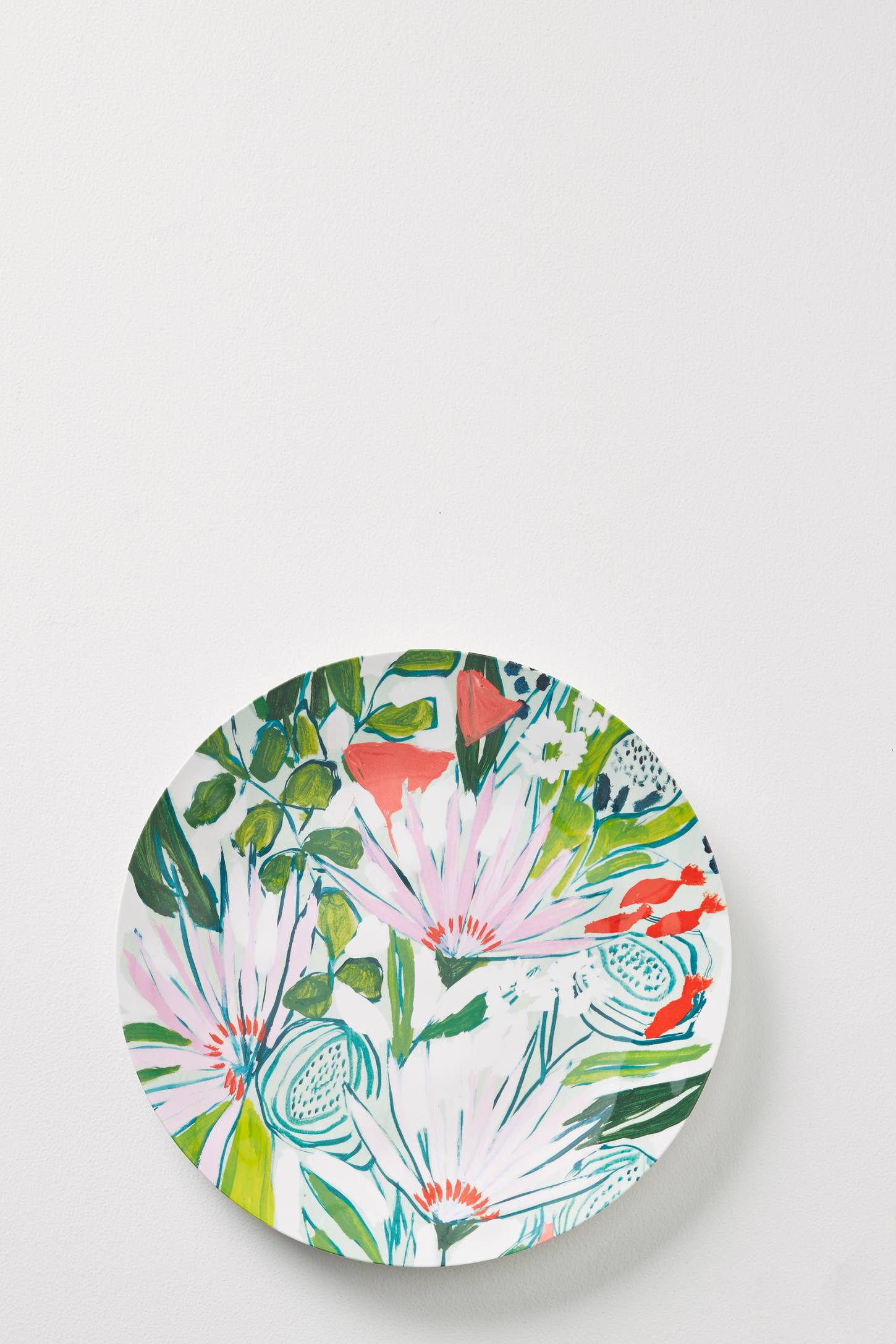 Slide View: 1: Lulie Wallace Melamine Dinner Plate