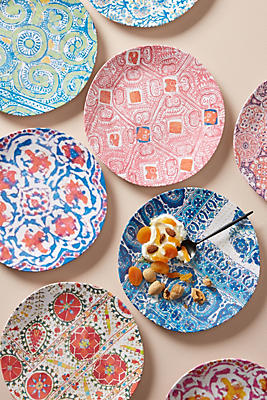 Slide View: 2: Tula Melamine Dinner Plate
