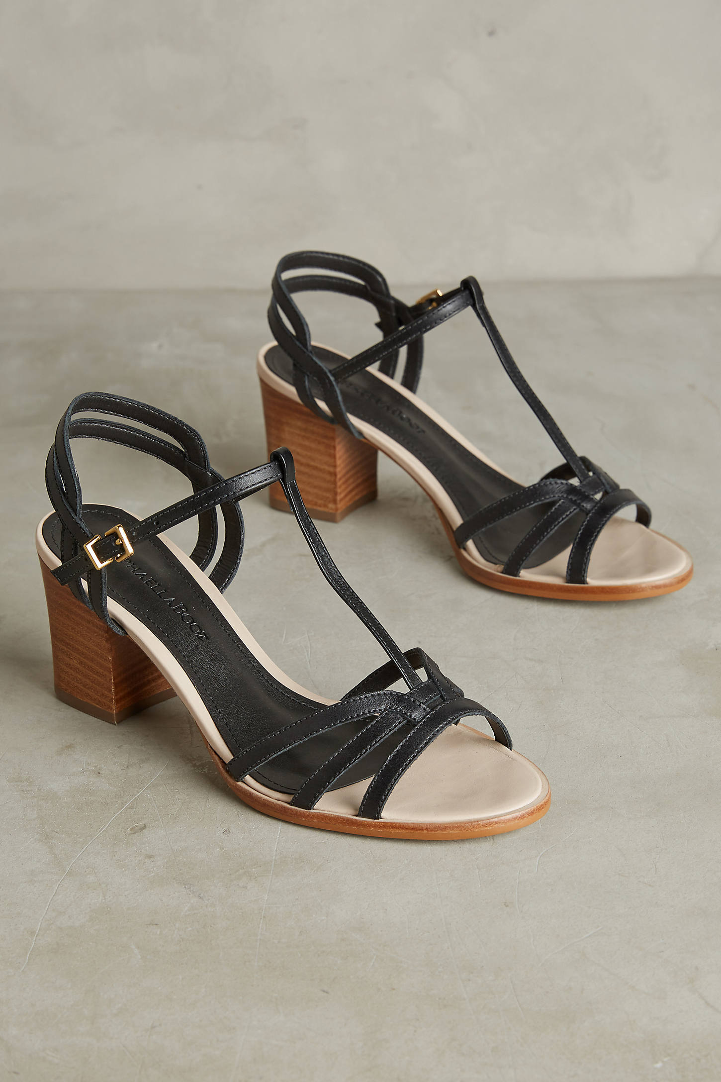 Raphaella Booz Salto T-Strap Heels