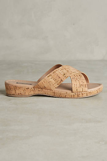 Doris Cork Sandals