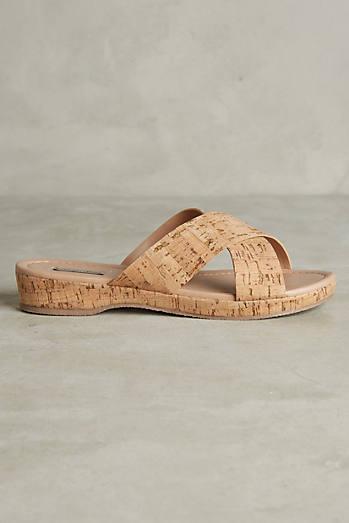 Doris Cork Sandals