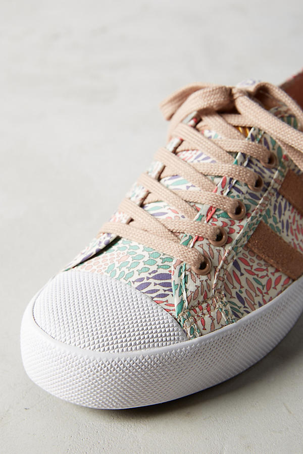 Slide View: 4: Gola x Liberty Coaster Sneakers
