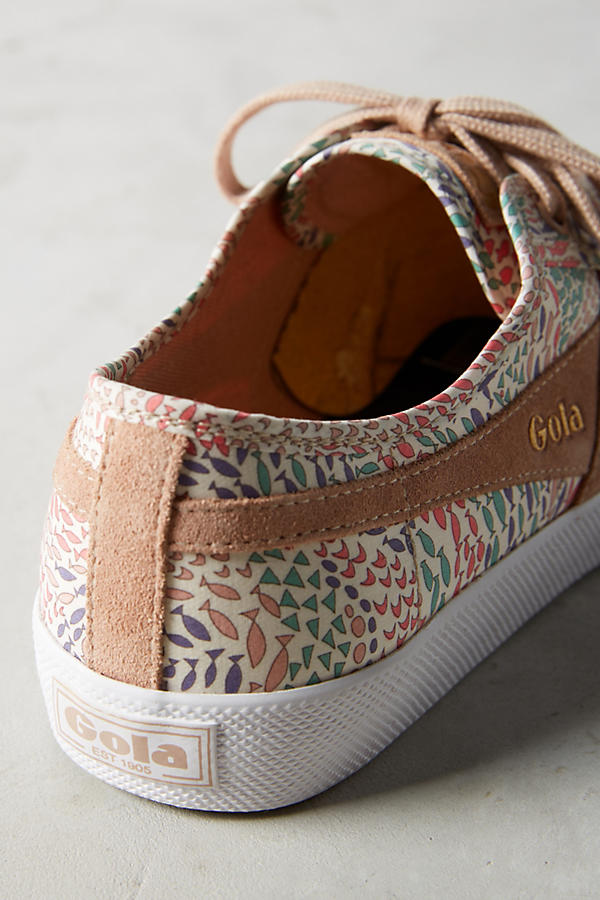 Slide View: 5: Gola x Liberty Coaster Sneakers