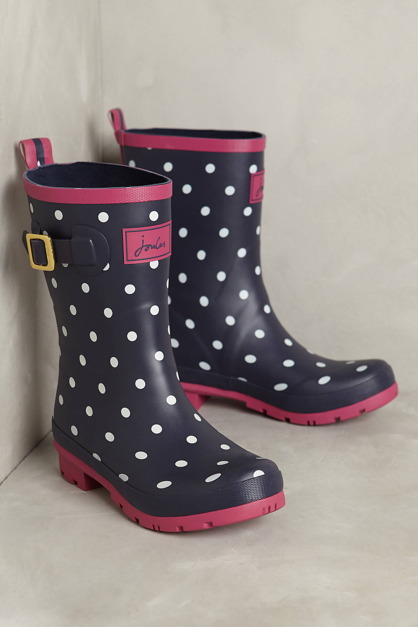 Joules Molly Printed Rain Boots