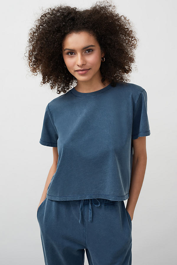 Kachel Cropped Washed T-Shirt