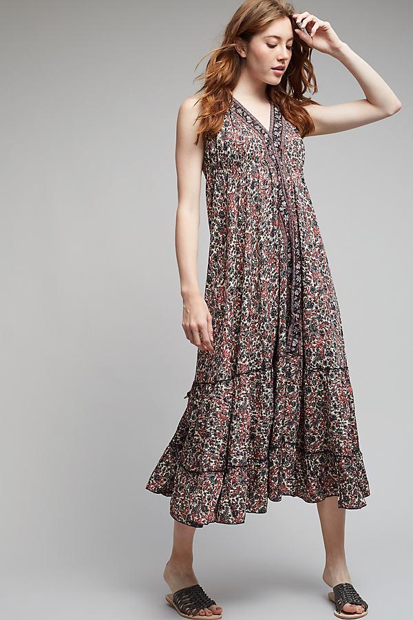 Kiona Halter Maxi Dress - A/s, Size S