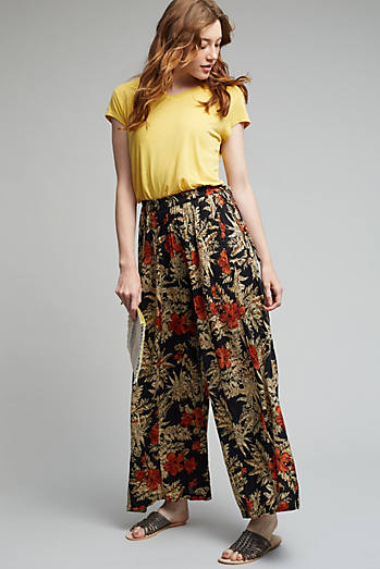 Ianthe Floral Trousers