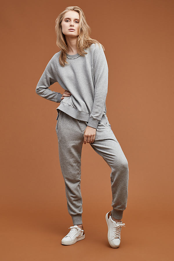 Cana Striped Joggers - Grey, Size Xs