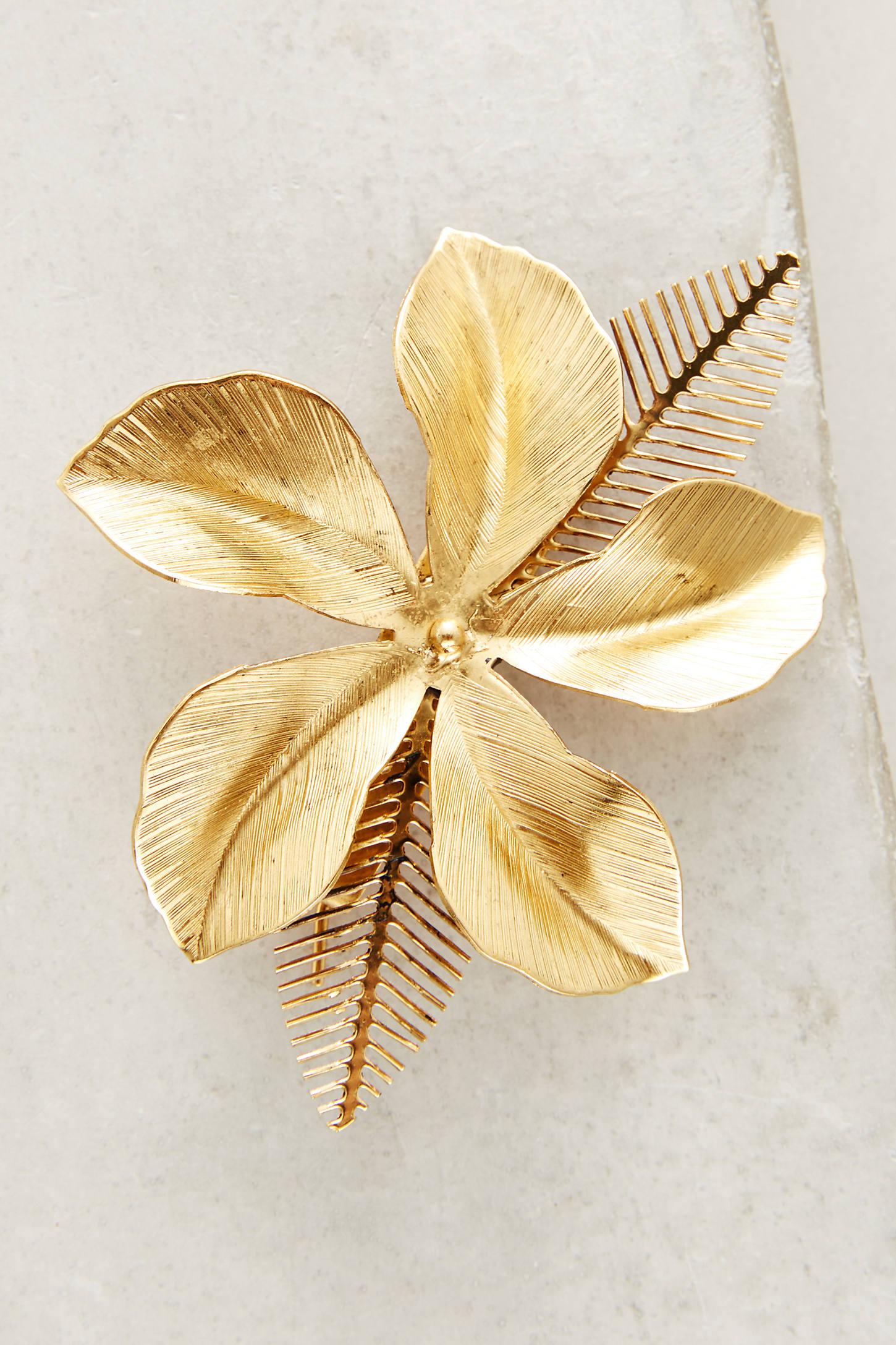 Hibiscus Barrette