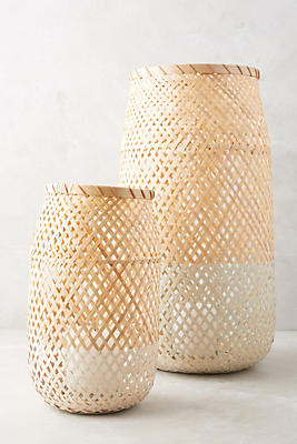 Slide View: 3: Dinant Wicker Candle Holder