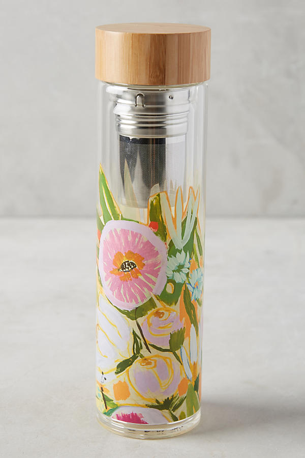 Slide View: 1: Jardiniere Infuser Water Bottle
