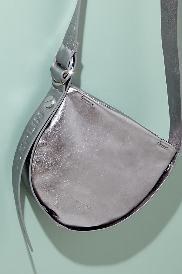 Liebeskind Leather Crossbody Bag - Silver