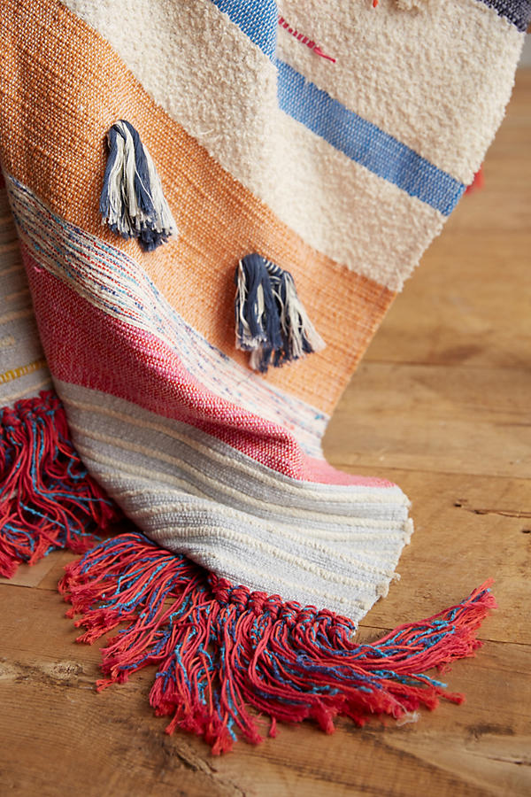 Slide View: 2: Tufted Desert Throw
