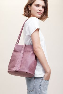 Tasselled Shoulder Bag by Anthropologie