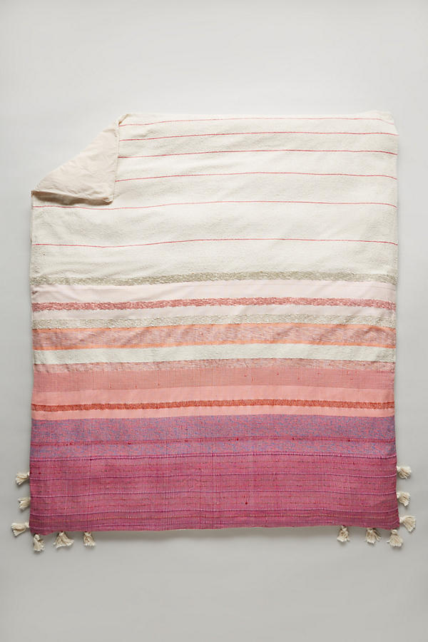 Slide View: 3: Woven Sunset Duvet Cover