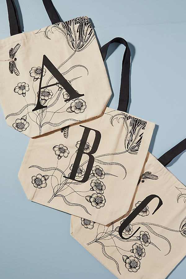 Marie Monogram Tote Bag