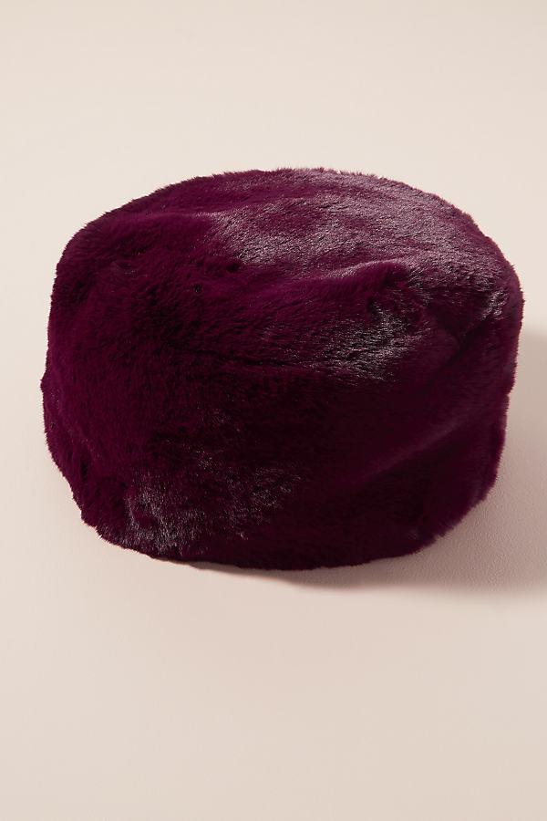 Robson Faux Fur Hat - Purple