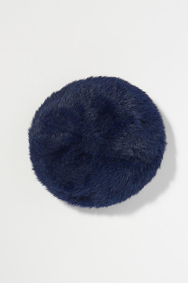 Hayley Textured Beret - Blue
