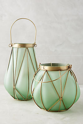 Slide View: 1: Seaglass Lantern