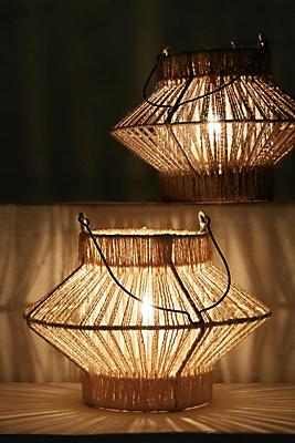 Slide View: 3: Musa Woven Lantern