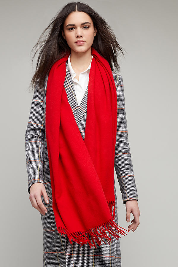 Clive Scarf - Red