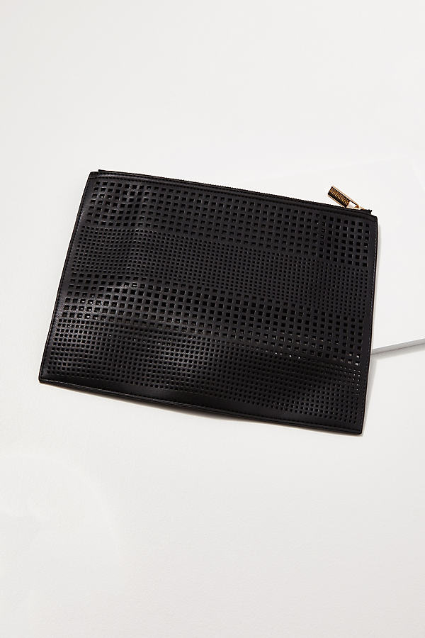 Perforated Pouch - Black