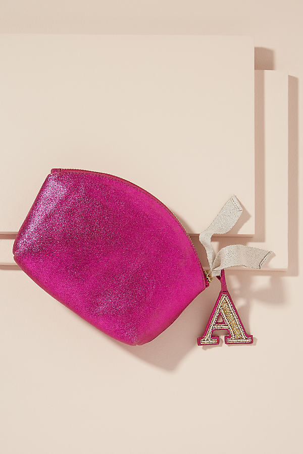 Monogram Metallic-Leather Pouch - Assorted, Size Z