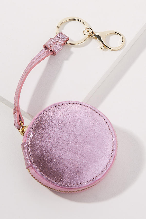 Slide View: 1: Metallic Circle Coin Purse