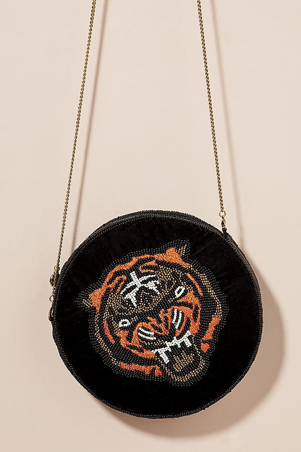 Tiger-Beaded Shoulder Bag - Assorted