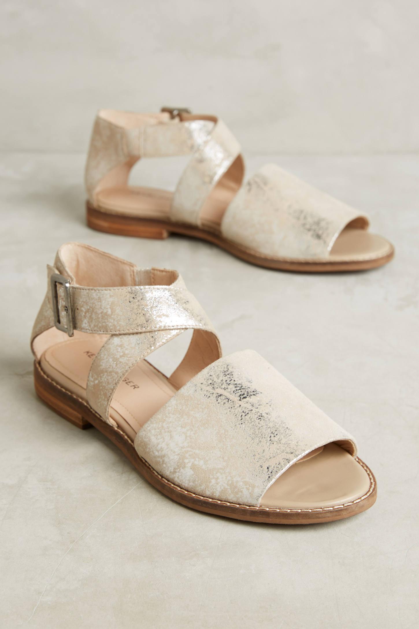Kelsi Dagger Brooklyn Sydney Metallic Sandals