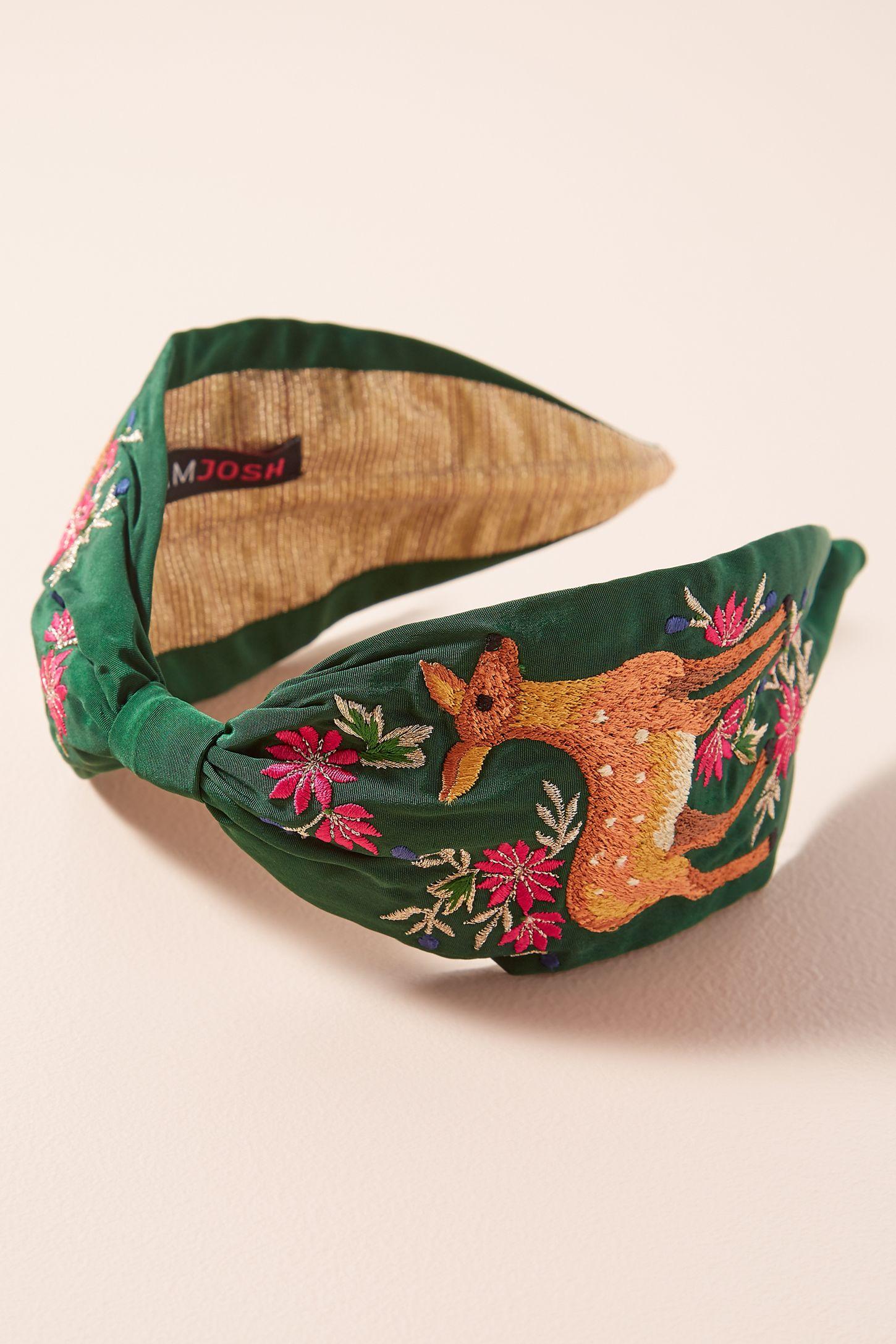 Josi Embroidered Headband  dedb57c21d2