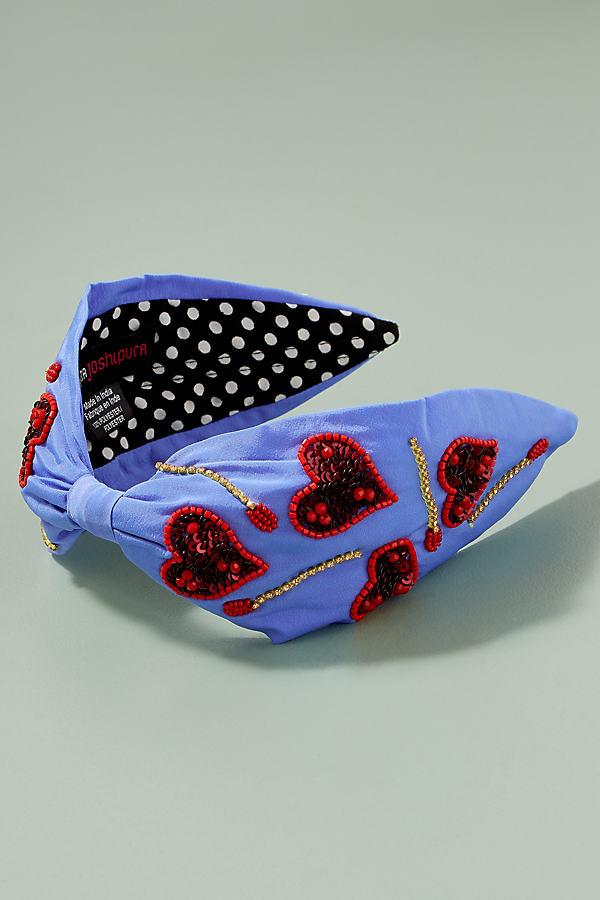 Alabama Hearts Headband - Blue