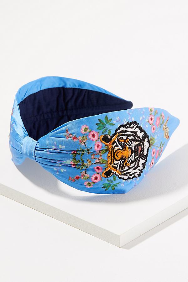 Embroidered Tiger Headband - Assorted