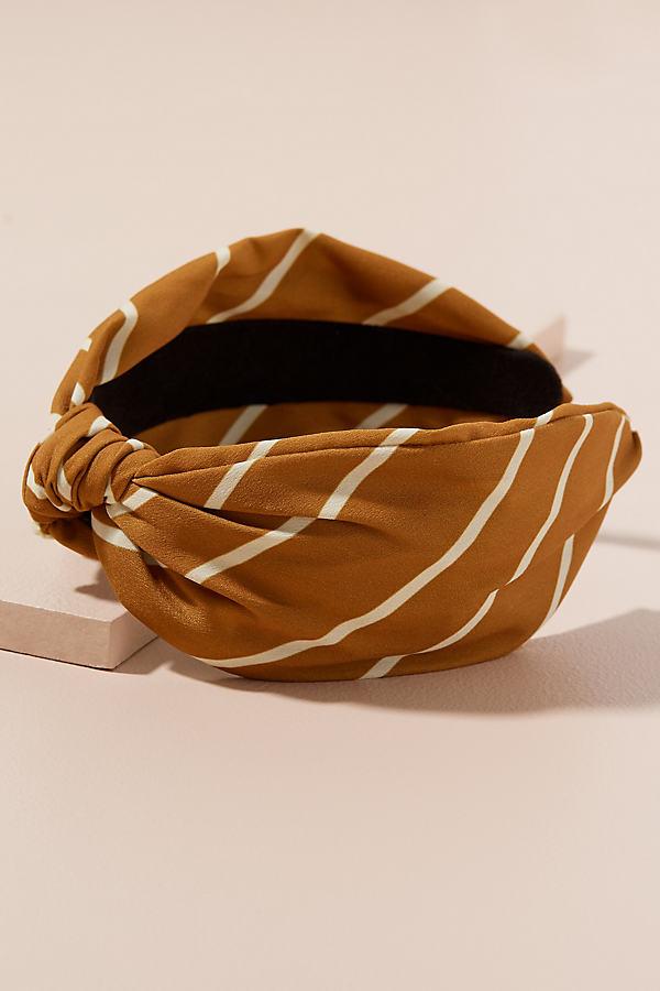 Marai Striped Headband - Yellow
