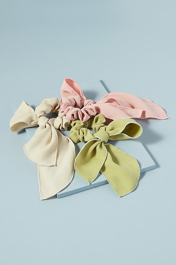 Pack of Three Bow Scrunchies