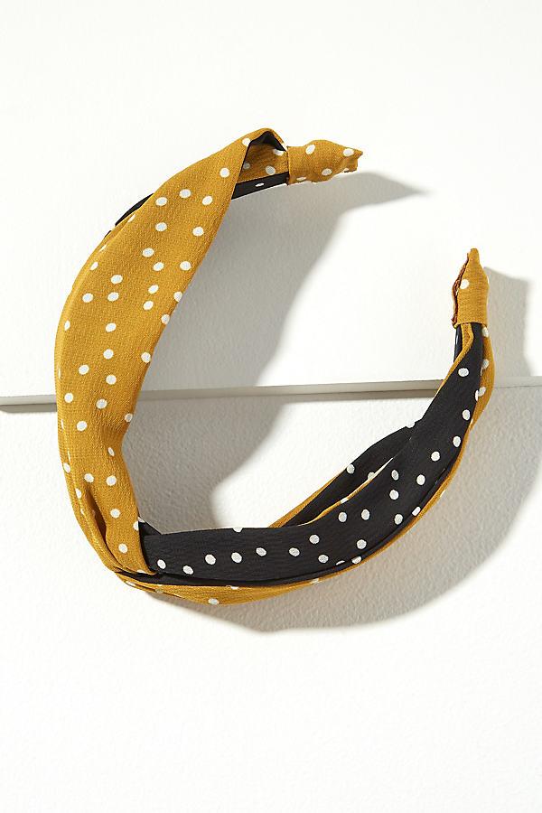 Martie Polka-Dot Headband - Assorted