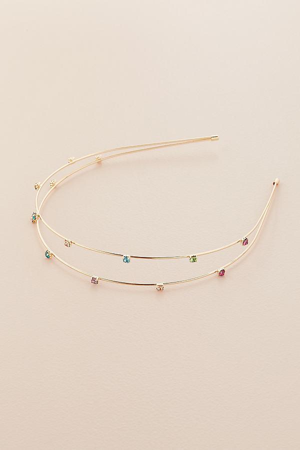 Rainbow Jewelled Headband - Assorted