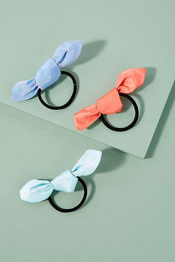 Pack Of Three Hair Ties - Assorted