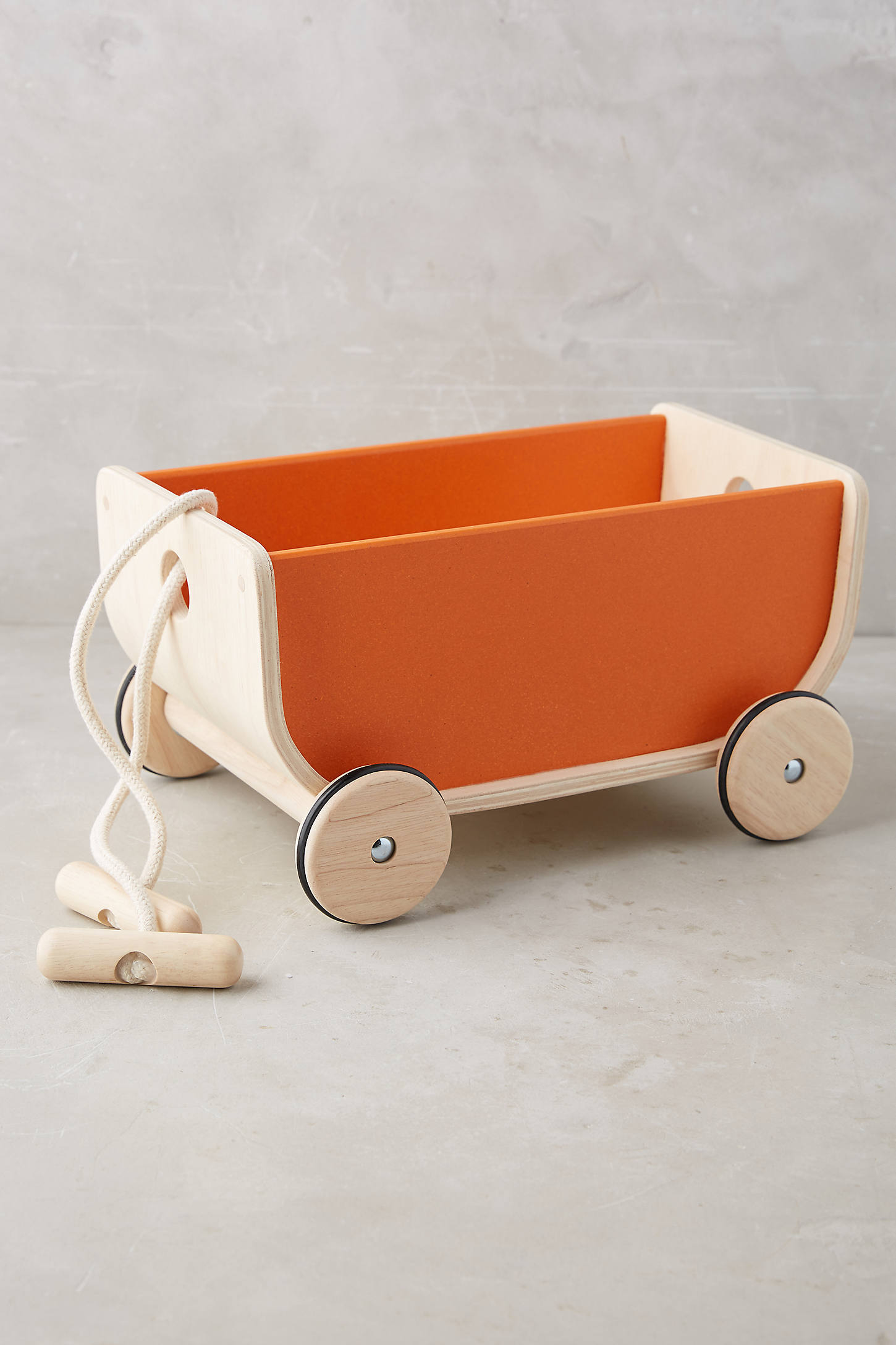 Wooden Play Wagon