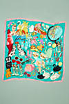 Thumbnail View 3: Foulard en soie Karen Mabon Wonderful World