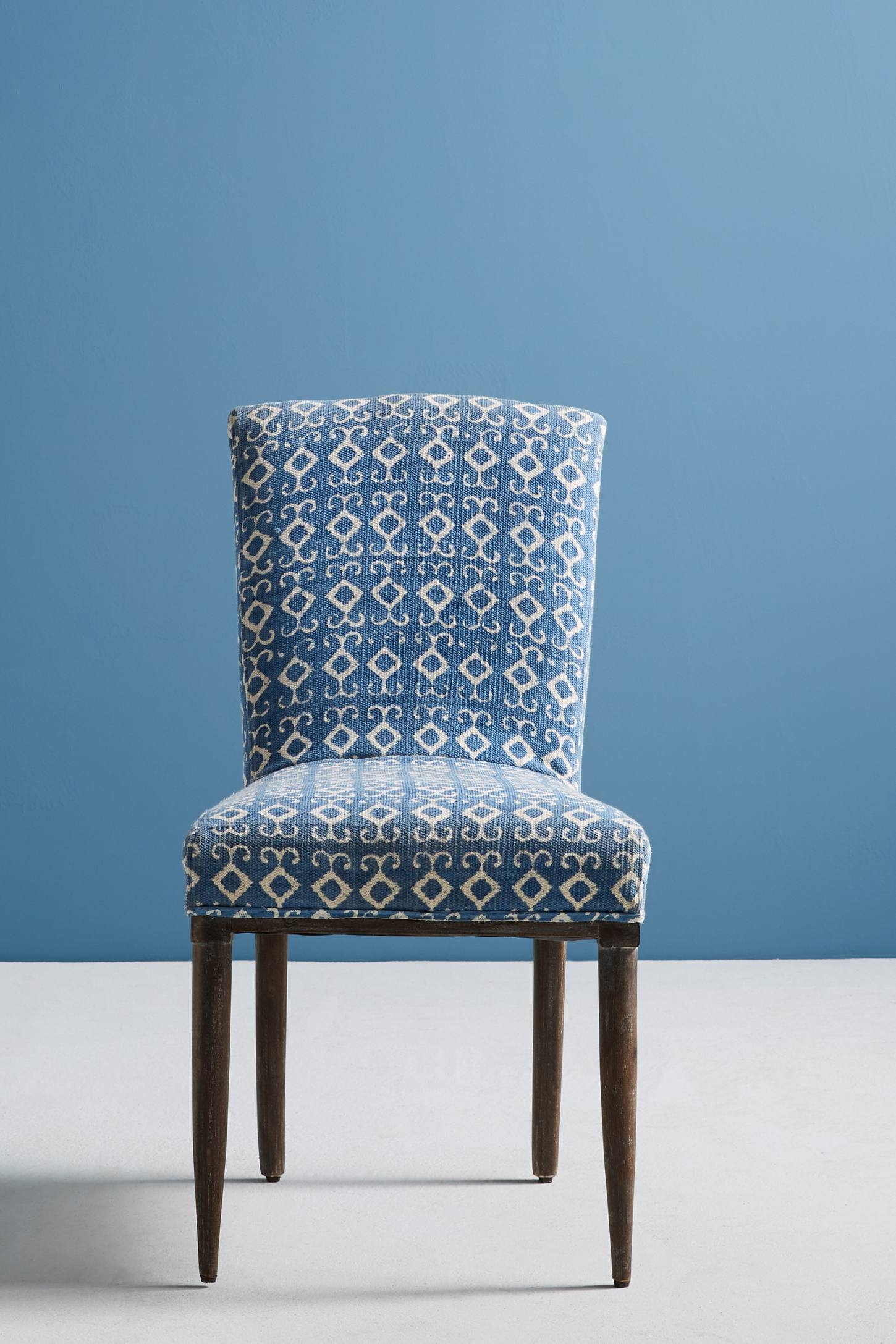 Elza Indigo Dining Chair Anthropologie