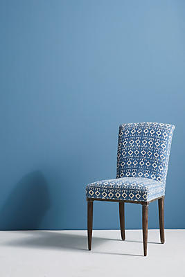 Slide View: 1: Elza Indigo Dining Chair