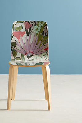 Slide View: 1: Purple Garden Tamsin Chair