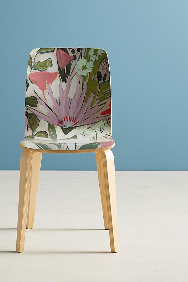 Slide View: 1: Purple Garden Tamsin Chair