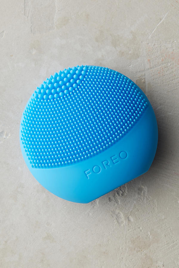 Slide View: 1: Brosse nettoyante aigue-marine Luna Play Foreo