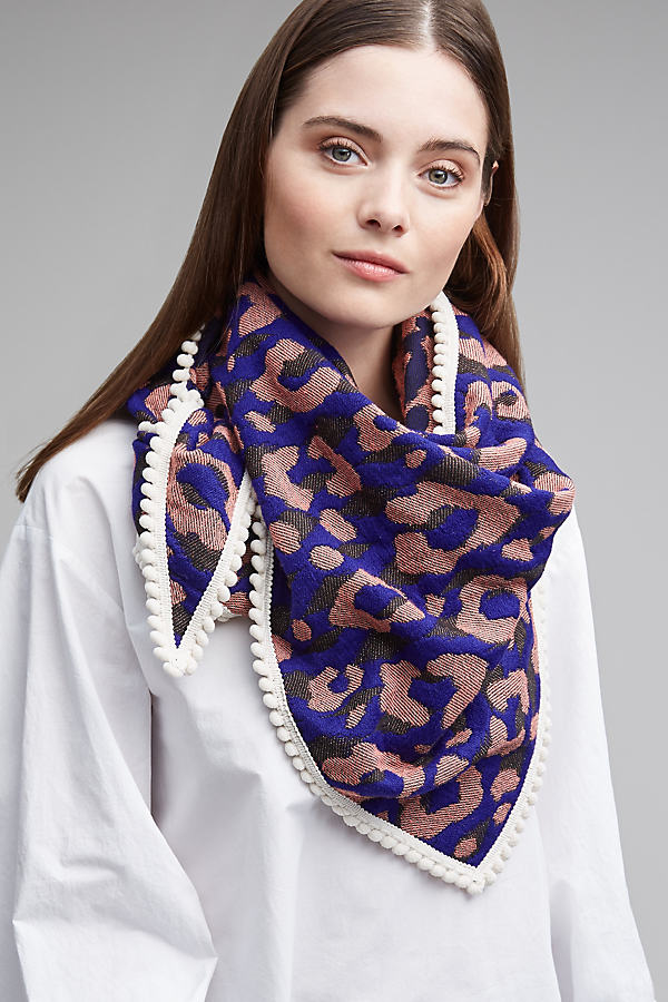 Rising Planet Scarf - Blue